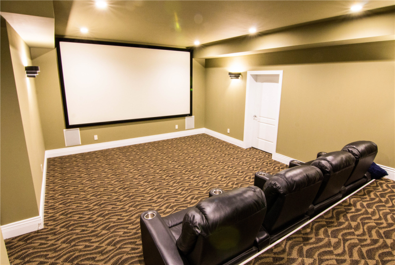 Custom Theater Room