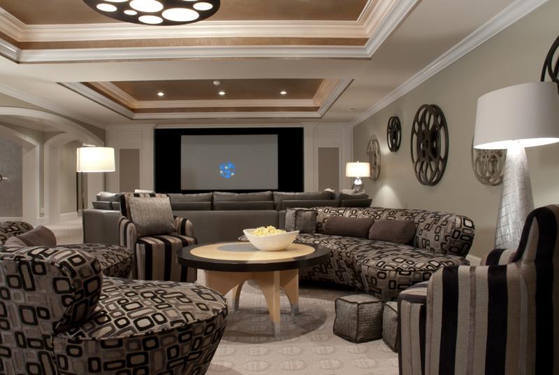 Lower Level Entertainment Room