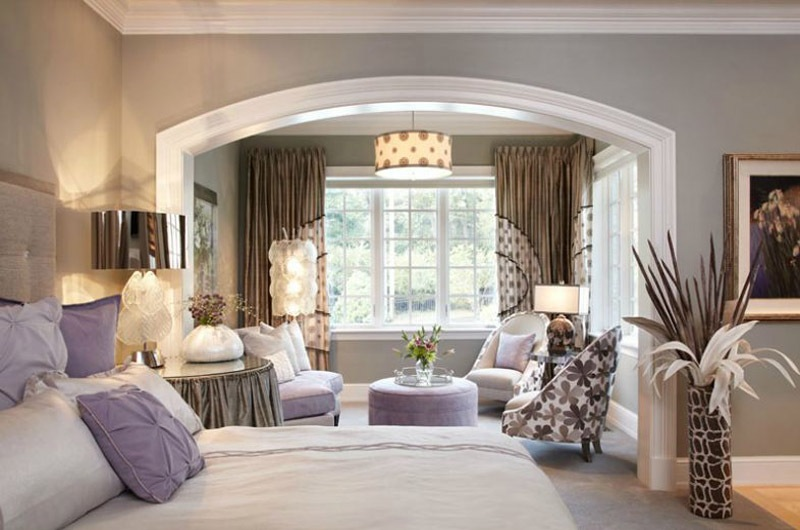 Master Bedroom with Sitting Room