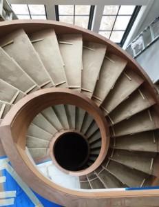 Spiral-Staircase-Custom-Home