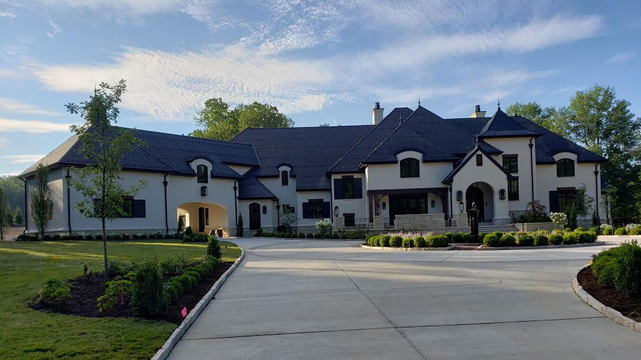 French Country Home Exterior 1
